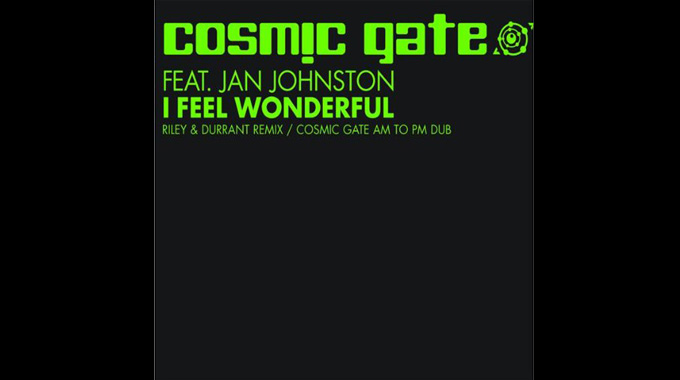 Cosmic Gate - I Feel Wonderful